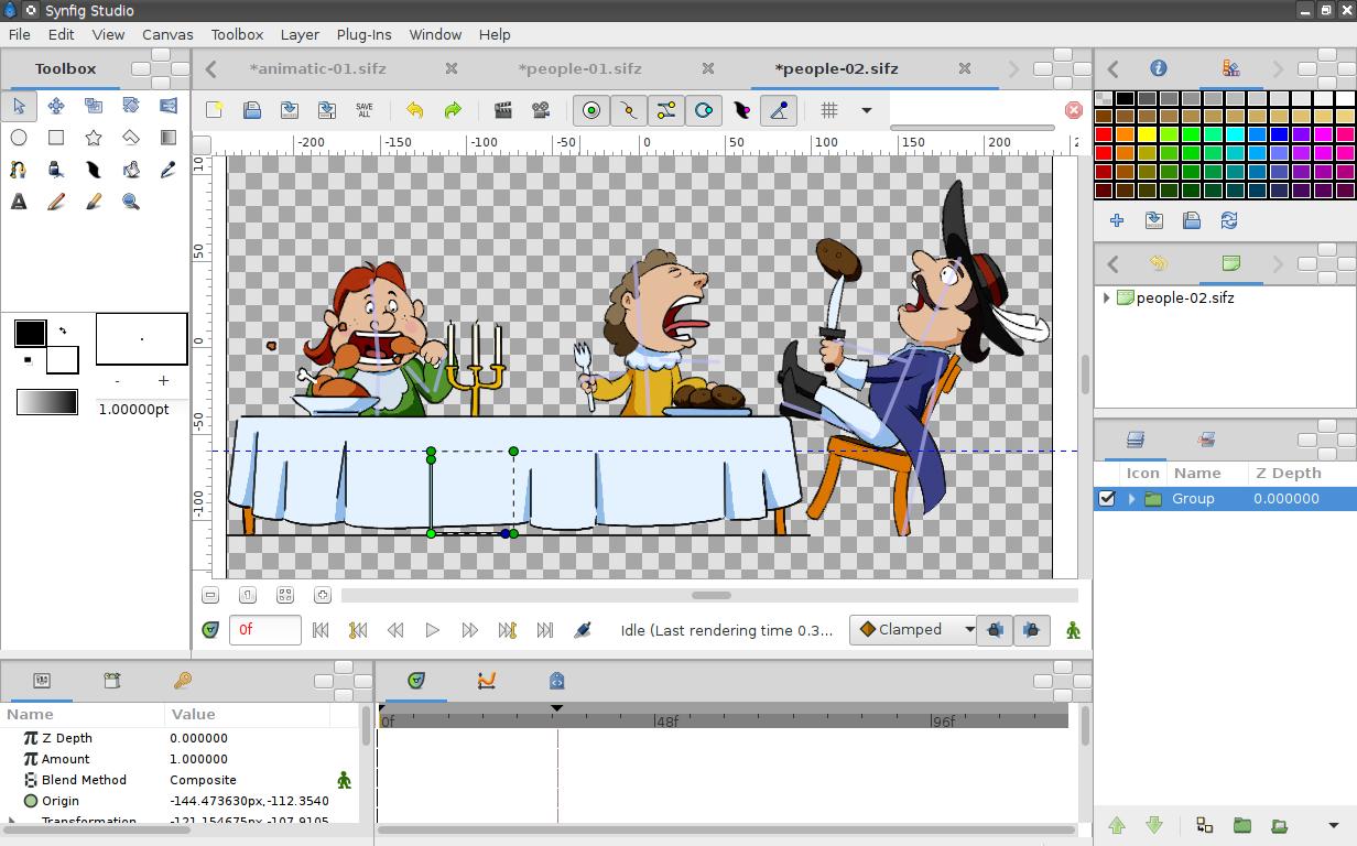 Создать анимацию на картинке онлайн